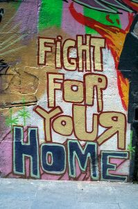Fight For Your Home © Laura Russell